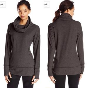 Marc New York Performance funnel neck fleece tunic